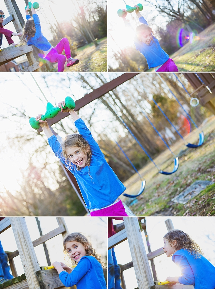 zipline in the backyard, ordinary life photography by Carey Pace