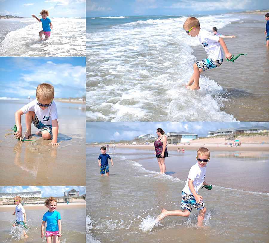 beach photography by Carey Pace at Topsail Island, NC in 2011