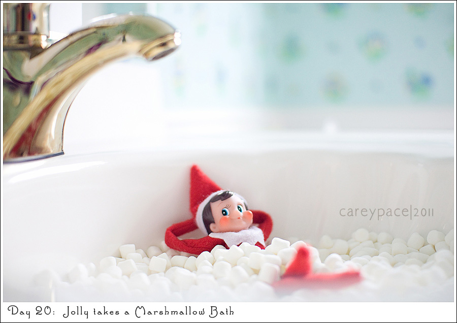 Elf on the Shelf images by Carey Pace