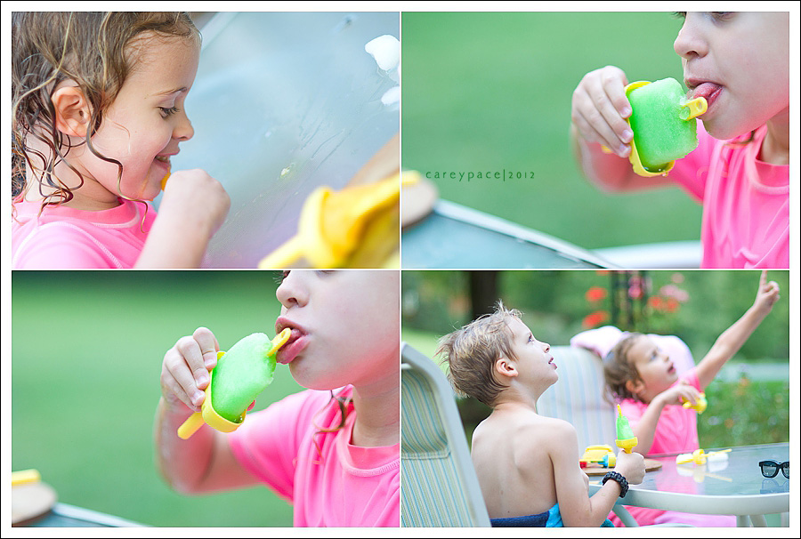 Carey Pace, Slushie Popsicles, Food Styling Challenge, The Inspired Plate, Summer Dessert