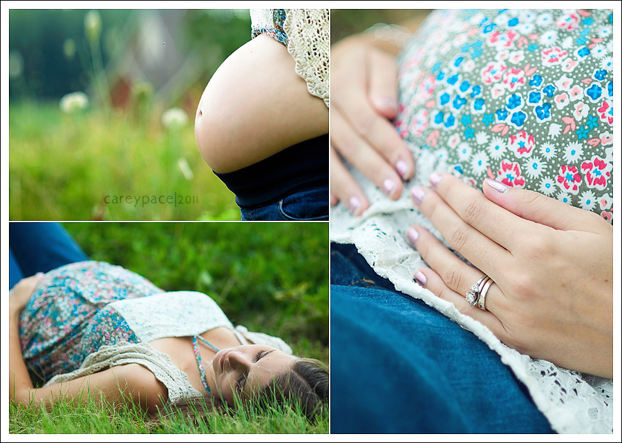 maternity images of Ashley Marion July 2011 by Carey Pace