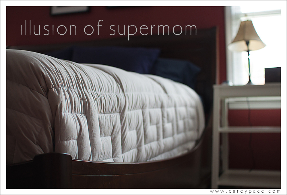 Stop Comparing. The Illusion of the Supermom and why we have to stop competiting with each other.  Be inspired, not defeated.