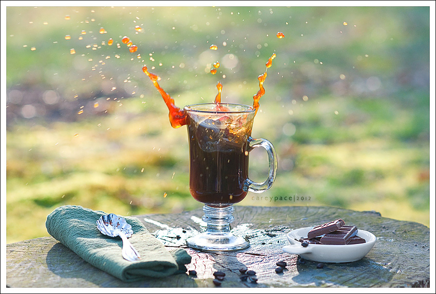 Splash images by Carey Pace, food styling challenge
